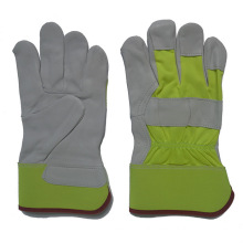 Industrial Safety Goat Grain Leather Driver Work Gloves