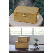 (BC-ST1040) Durable Handcraft Natural Straw Basket