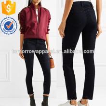 Средней высоты узкие джинсы Производство Оптовая продажа женской одежды (TA3056P)
