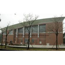 Diseño personalizado del tejado de acero del tejado para el gimnasio, edificio de oficinas, centro comercial, Libary