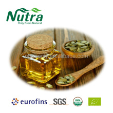 Aceite de semilla de calabaza orgánico natural