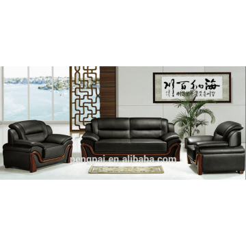 Elegant design leather office sofa for Saudi Arabic