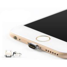 Магнитный адаптер для зарядки iPhone с пружинной защелкой Pogo Pin