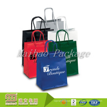 High Quality Best Service Custom Made Logo Printed Paper Bags Wholesale India