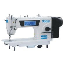 QS-S5 computer Single Needle Direct drive touch screen speaking Auto Trimmer Lockstitch Industrial Sewing Machine
