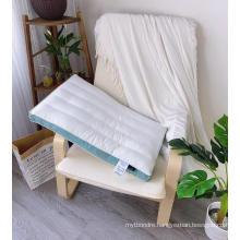 Premium Hotel Cotton Cover Alternative Pillow Breathable Relief Neck
