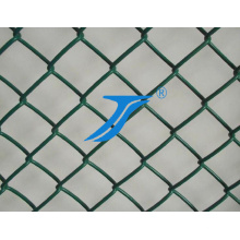 PVC Coated Chain Link Mesh/Tennis Fence/Track and Field Fence