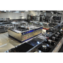 Shinelong Spitzen-Reihen-Edelstahl-Catering-Ausrüstung benutzt mit vorteilhaftem Kommentar
