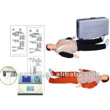 Manequim de primeiros socorros Inteligente ISO com display LCD, manequim de treino adulto em CPR