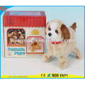 Novelty Design Kids' Toy Colorful Walking Electric Skip Stuffed Puppy