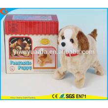 Novidade Design Kids 'Toy Colorful Walking Electric Skip Stuffed Puppy