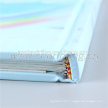 Perfect binding book printing hardcover with lamination