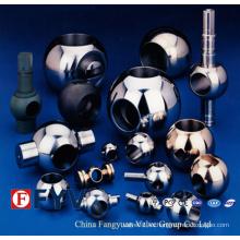 Piezas de válvula de bola de acero inoxidable de alta calidad