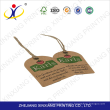 Best price superior quality hang tag printing