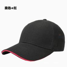 Personnalisé Sport / Mode / Loisirs / Promotionnel / Tricoté / Coton / Casquette de Baseball Noire