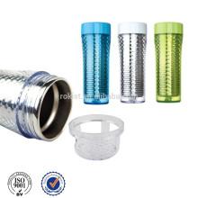 produtos inovadores novos 2013 camada dupla garrafa de água, garrafa de bebida, garrafa de esporte