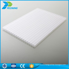 Newly top quality coloured flat polycarbonate pc honeycomb sheet