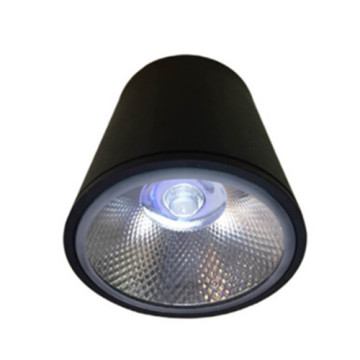 Downlight LED moderno negro 8W