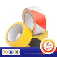 Ruban d'avertissement de barricade de matériel de PVC de la meilleure vente