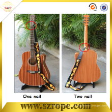 correa de la guitarra de los instrumentos musicales directos de la fábrica por la impresión del tranfer del calor