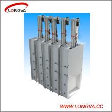 Vanne de fermeture à glissière pneumatique inox 304 en acier inoxydable