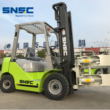 2Ton Paper Roll Clamp Diesel Forklift