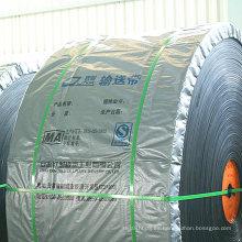 Sistema transportador / banda transportadora de goma / cinta transportadora de goma del poliéster