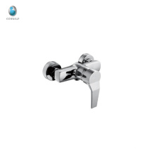KTM-13 wholesale deck installation chrome polished copper shower room accessory fitting upc ceramic cartridge shower faucet