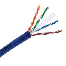 UTP CAT6 Câble LAN 305m Gigabit Fluke-Passed and Poe Compatible