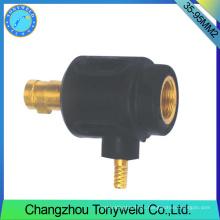 Tig soldadura antorcha precio femenino trasero cable adptor 35-95mm2