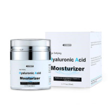 Crema antiedad hidratante de ácido hialurónico para el cuidado de la piel
