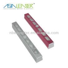 Material de aluminio 6LED Sensor de movimiento de interior
