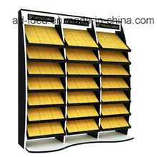 Metal Display Stand/Display for Quartz, Stone, Mosaic Tile Exhibition