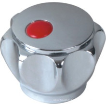 Poignée de robinet en plastique ABS avec finition chromée (JY-3006)