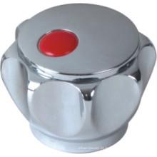 Punho do torneira no plástico do ABS com revestimento do cromo (JY-3006)