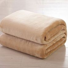 Super Soft Plain Dyed Polar Fleece Blanket Chine Facrtory Grossiste Polar Fleece Blanket