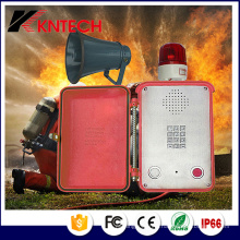 Téléphone d'urgence IP66 avec interphone et haut-parleur