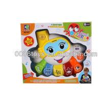 Top vendas musical Octopus w / luz / B / O brinquedos / brinquedos musicais