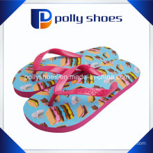 2016 New Design Casual Flats Women Flip Flop Candy Color