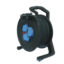 220v power cord reel 15m 20m 30m 40m handle industrial cable reel