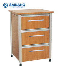 SKS011 Chinese Wood Living Room Bedside Cabinet