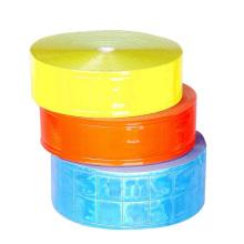 cinta reflectante adhesiva de PVC de alta visibilidad de color