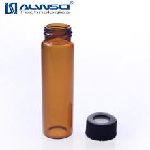 Frasco de análise de cromatografia de qualidade EPA TOC de 40 ml