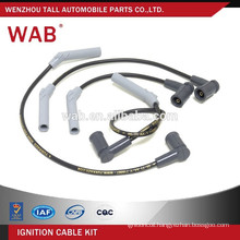 Silicone spark plug ignition wire ignition cable kit for FORD XS6F12283B3C