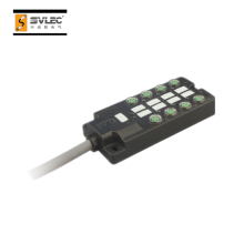 M8 8-way moulded PUR cable junction box