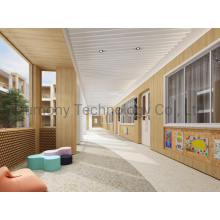 Nano Coating Anti-Microbial Aluminum Composite Sandwich Board for Hospital Laboratory Kindergarten Dedicated Clean Room Wall Roof Ceiling
