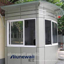 Alunewall meilleure vente Panneau composite en acier inoxydable et aluminium avec une largeur maximale de 2 mètres