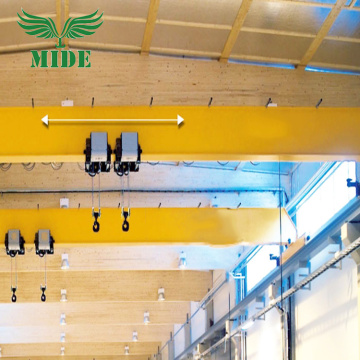 LDE type double hoist single girder overhead crane