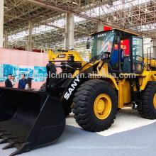 Venta CALIENTE China Sany cargador de la rueda de 5 toneladas / modelo del cargador frontal 956 con el cubo 3m3