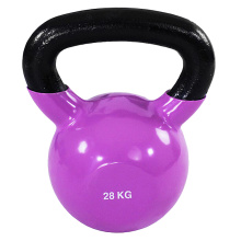 28 KG Kolor Vinyl Coated Kettlebell